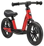 BIKESTAR Bicicleta sin Pedales Muy Ligera para niños y niñas | Bici 10' Pulgadas a Partir de 2-3 años | Eco Clásica Rojo