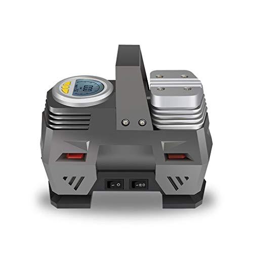 CQB Elektrischer Kompressor Fahrrad Gummireifen-Cordless BauKompressor Fahrrad Digital-Auto-Luftpumpe 12V 150PSI Wiederaufladbare Luftpumpe for Auto-Fahrrad-Reifen-Kugeln GRS-6.30