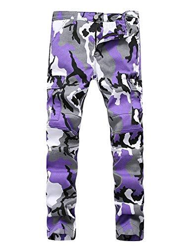 MaoDaAiMaoYi Mannen Straat Stijl Camouflage Gedrukte Joggers Elastiek met Fietsen Broek Zakken Mode Woonbroek Broek Broek Broek