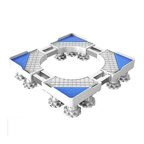 VIUNCE Automatische Waschmaschinenbasis Lärmreduzierung Der Waschmaschine Bodenplatte Hoch Feuchtigkeitsbeständige Halterung Gerätebasis (Size : C)