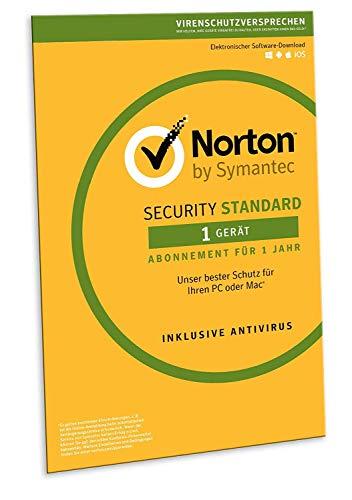 Preisvergleich Produktbild Norton Security Standard 2019 / 1 Gerät / 1 Jahr / PC / Mac / Android / iOS / Download,  Aktivierungscode in Frustfreier Verpackung