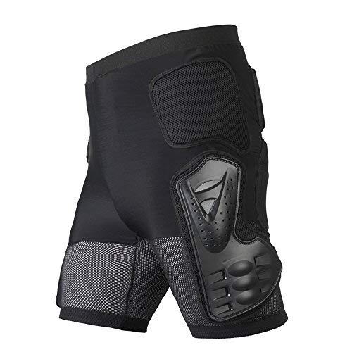 WILDKEN Pantalones Protectores de esquí para Motocicleta, Protectores de Cuerpo Resistente para Motocicleta, Motocicleta, Carreras, Bicicleta, para Hombres y Mujeres (XL)