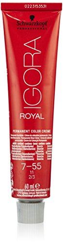 Schwarzkopf IGORA Royal Premium-Haarfarbe 7-55 mittelblond gold extra, 1er Pack, 60ml