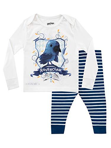 Harry Potter Jungen Ravenclaw Schlafanzug Slim Fit Blau 122