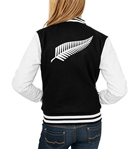 Certified Freak New Zealand College Vest Girls Black M