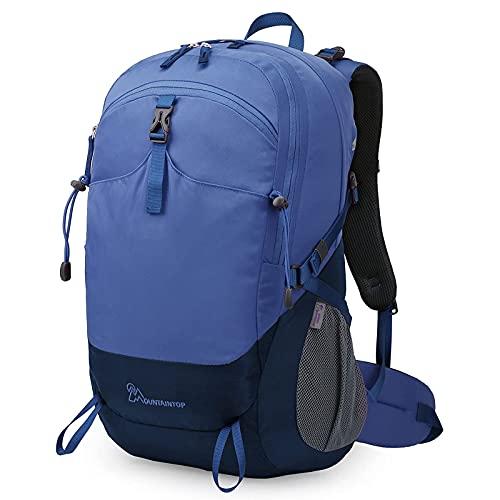 Zaino da Hiking 40L, Zaino da Trekking Impermeabile E Leggero Zaino Sportivo Zaino da Escursioni per Arrampicata Viaggio Campeggio (Color : Blue, Size : One Size)