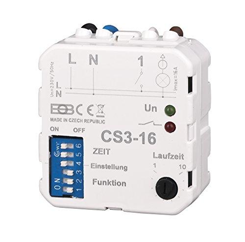 Elektrobock CS3-16 Multifunktions Nachlaufrelais Unterputz