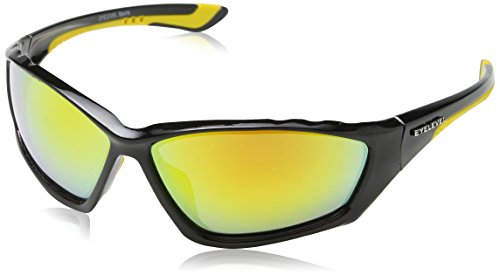 Eyelevel Bullet Lunettes De Sport, Noir - Black (Black/Yellow), taille unique Homme