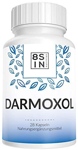 8 Sin Nutrition - Darmoxol - Darm - Stoffwechsel, Verstopfung - 100% Natürlich - 28 Kapseln