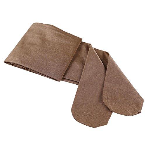 TiaoBug Damen Strumpfhose 70 Den Glossy Glänzende Hose Pants Leggings Tights Modisch Matt mit Glanz Fein Strumpfhosen Coffee One Size