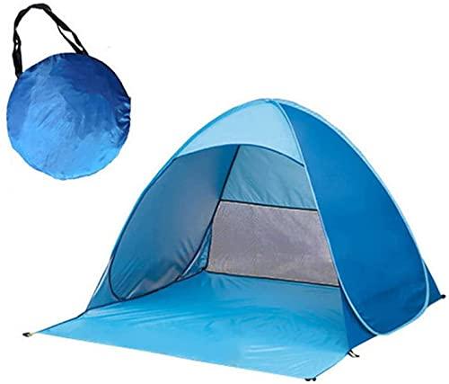 XJYDS Tienda de campaña Plegable, Carpa de Playa al Aire Libre, Tienda Plegable Ligera, Tienda de campaña Pop-up, Viajes Familiares, Pesca, Camping