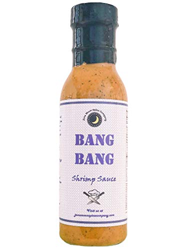 Premium | Bang Bang Shrimp Sauce | Gluten Free | Low Saturated Fat | Cholesterol Free | Crafted in Small Batches with Farm Fresh Herbs for Premium Flavor and Zest