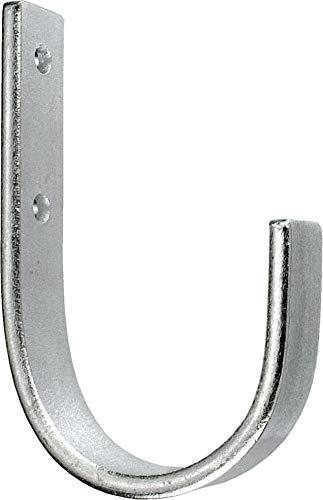 Connex Wandhaken 110 x 70 x 55 x 20 mm - Belastbar bis 45 kg - - verzinkt / Universalhaken / Montagehaken für Garage / Werkstatthaken / Ordnungshelfer / DY222014
