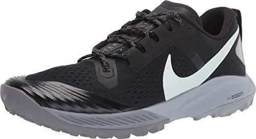 Nike Men's Air Zoom Terra Kiger 5 Running Shoe, Black/Gunsmoke, 14 D(M) US