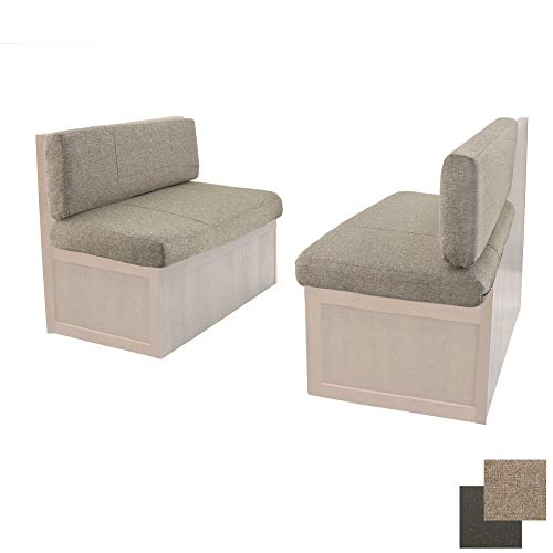 RV Dinette Booth Cushions with Memory Foam | Cloth | Camper Trailer | Bed | RV Furniture (40