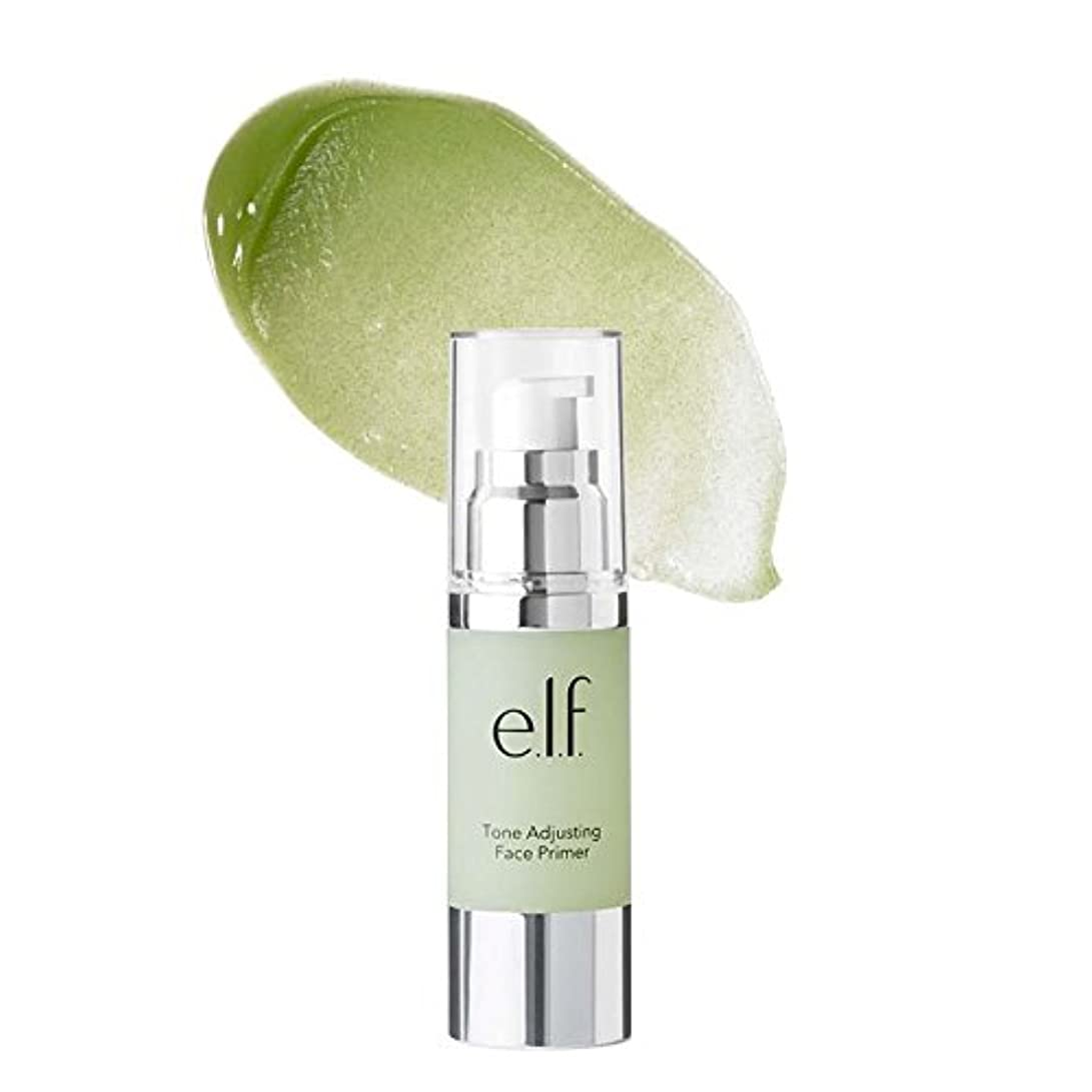 突っ込む司法グリル(6 Pack) e.l.f. Tone Adjusting Face Primer Large - Neutralizing Green (並行輸入品)