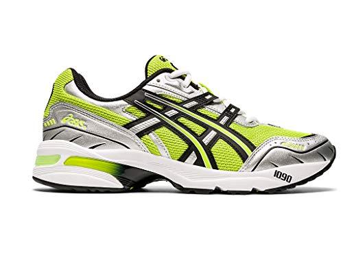 ASICS Zapatos de hombre GEL-1090, verde (Piel de Lima/Negro), 46.5 EU