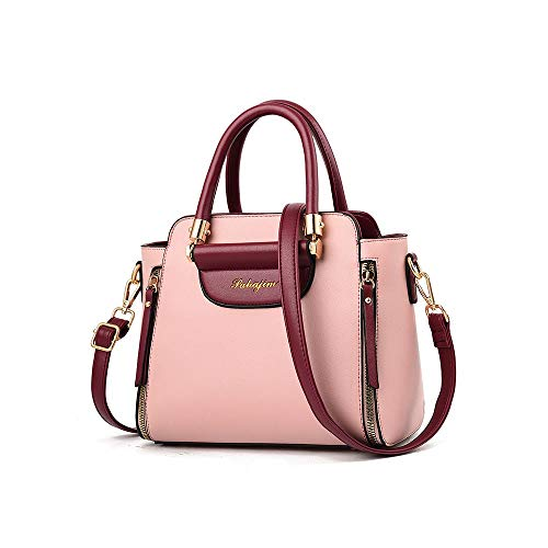 Autumn and Winter Fashion Women's Bags, Contrast Color Handbags, All-Match One-Shoulder Messenger Bags