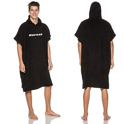 DORSAL Thick Microfiber Surf Poncho (Wetsuit Changing Robe/Towel) FBA