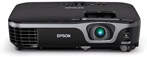 Epson EX7210 Projector (Portable WXGA 720p Widescreen 3LCD, 2800 lumens color brightness, 2800 lumens white brightness, HD...
