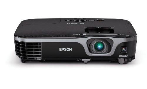 Epson EX7210 Projector (Portable WXGA 720p Widescreen 3LCD, 2800 lumens color brightness, 2800 lumens white brightness, HDMI, rapid setup)