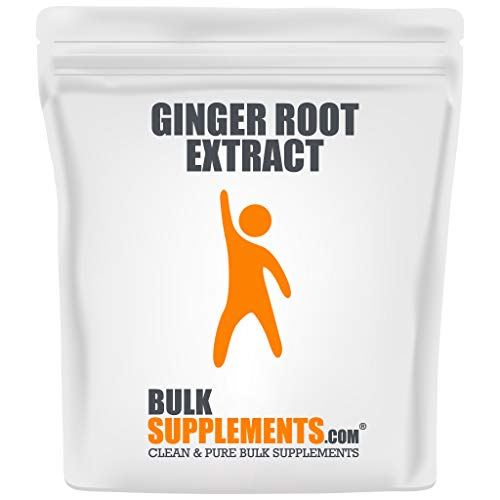 BulkSupplements.com Ginger Root Extract - Ground Ginger Powder - Ginger Supplements - Ginger Extract (500 Grams - 1.1 lbs - 500 Servings)