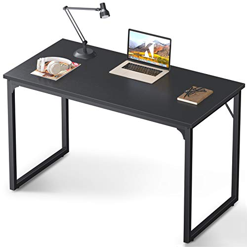 Coleshome 47 Inch Computer Desk, Modern Simple Style Desk for Home Office, Study Student...