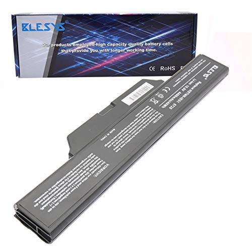 BLESYS HSTNN-LB51 Batería para HP Compaq 550 511 610 615 Serie 491278-001 DD06 HSTNN-FB51 HSTNN-FB52 GJ655AA KU532AA 451086-621 456865-001 484787-001 Ordenador portátil 4400mAh 10.8V
