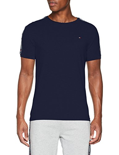 Tommy Hilfiger Herren Rn Tee Ss T-Shirt, Blau (Navy Blazer 416), X-Large