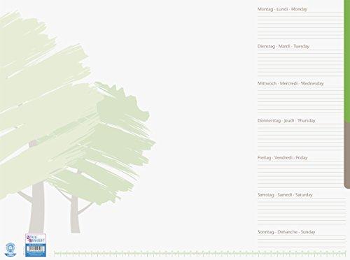 König & Ebhardt 869820001 bureau-onderlegger groene boom (recycle)