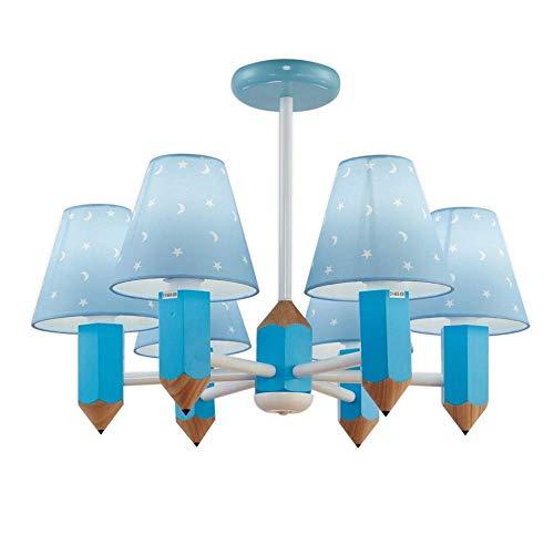 JYDQM Lámpara de araña de Dibujos Animados, luz Ambiental de Montaje Empotrado de 6 Luces - Estilo Mini, protección for los Ojos Lámpara de Techo for Habitaciones de niños con Ahorro de energía,