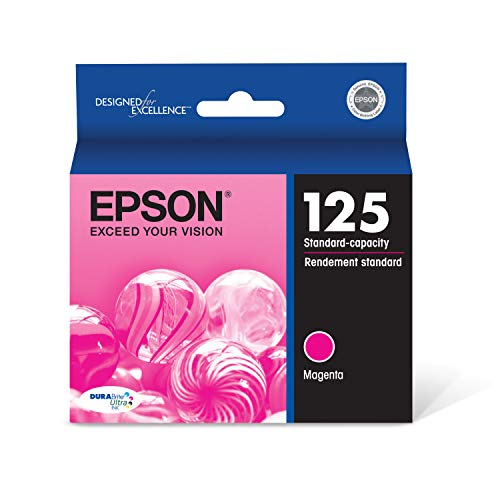 Epson T125320 DURABrite Ultra Magenta Standard Capacity Cartridge Ink