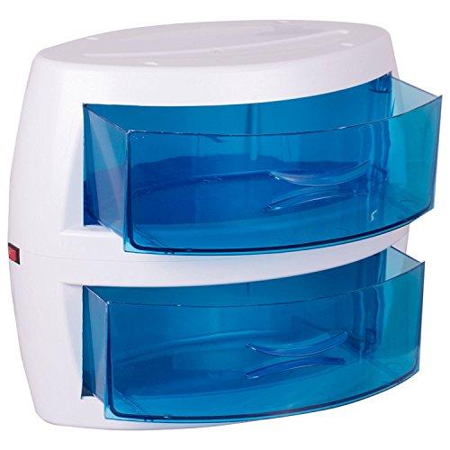 Crisnails® Esterilizador UV Profesional Germicida Bactericida para Peluquería Manicura Dos Bandejas Peluquería Salón Belleza