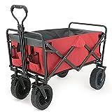 Nealpar Carro al Aire Libre del Campista Plegable de la Capacidad de 80 Kilogramos con el Carro Pleg...
