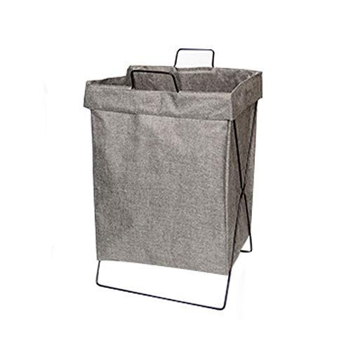 TOBY Folding Panier à Linge Textile, avec poignées Trieuse de Linge Sale Rangement Facile Dortoir de collège pour la Maison pour pépinière Jouets-B 55x38x28cm(22x15x11inch)