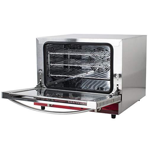 Avantco CO-14 Quarter Size Commercial Countertop Convection Oven Counter Top, 0.8 Cu. Ft. – 120V, 1440W