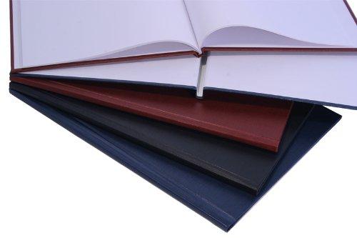Buchbindemappen, Thermo Bindemappe, Hardcover, 6 mm - schwarz