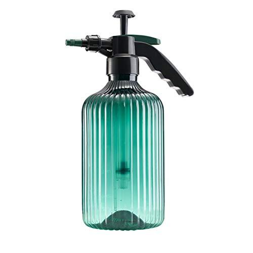 Ouskau – Pulverizador de jardín de 2000 ml, dispositivo de rociado ajustable regadera neumático para productos de limpieza, líquido