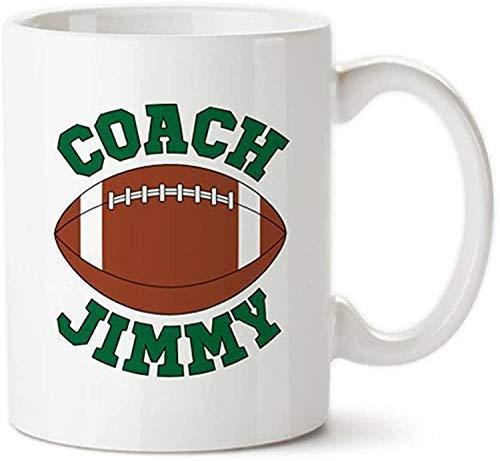 Benutzerdefinierte Fußballtrainer, Geschenke für Trainer, personalisierte Trainer Tasse, Trainer Kaffeetassen, danke Trainer, Fußball Trainer Cups, Fußball Tasse, Neuheit Tasse / Tasse, Keramik Kaffee