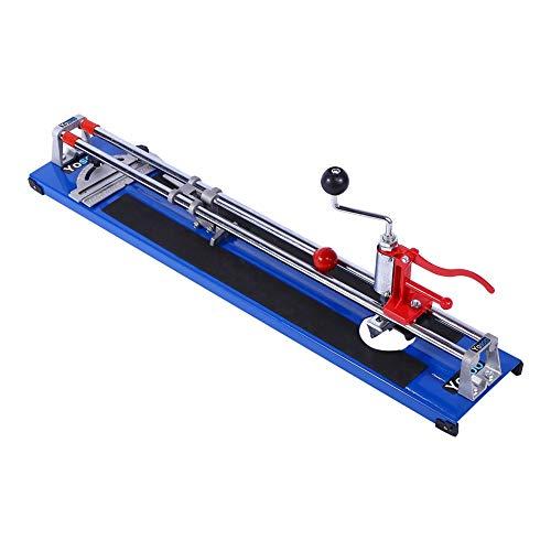 JALAL Cortador de Azulejos Manual multifunción 3 en 1 de 600 mm de Alta Resistencia para máquina de Herramientas cortadora de Piso de cerámica DIY