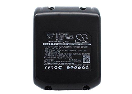 Ekkos Battery for Hitachi DV 14DVA WH 14D UB 18DL DS 14DAF2 WH 14DMK DS 14DVB2 C-2 DH 20DV DS 14DMR WH 14DA G 14DL WH 14DH DV 14DMR DS 14DFLG DV 14DL BCL 1430 EBL 1430 327728 BCL 1415 (Li-ion,4000mAh)