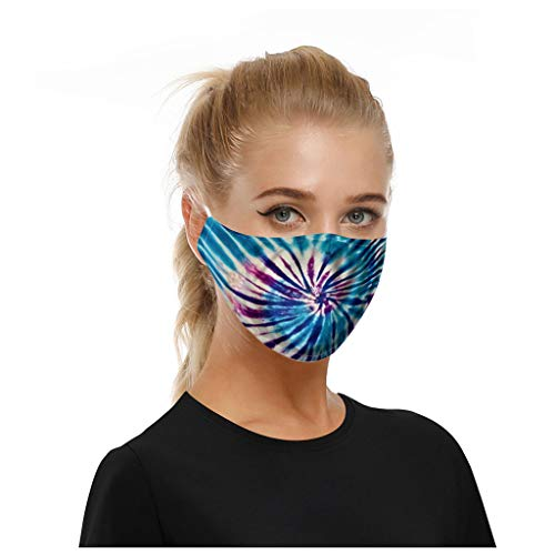 MORETIME Universal a prueba de polvo y lavable con smog para adultos en Europa y América, boca antipolvo, cara para ciclismo, viaje de campamento