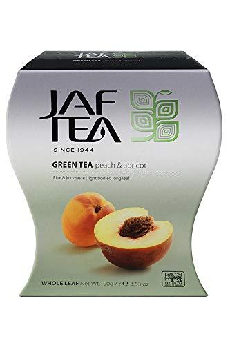 JAF TEA Grüner Tee - Pfirsich & Aprikose - Karton