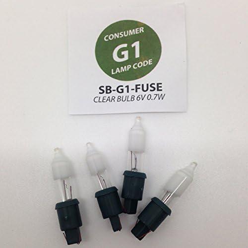 1 Fuse Noma G1 6 Volt Multi Colour Bag of 20 Bulbs