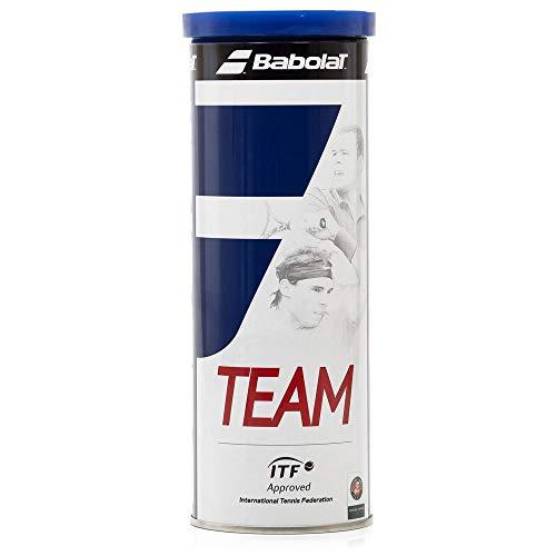 Babolat Team X 3 Pelota de Tenis, Unisex Adulto, Amarillo, Talla Única