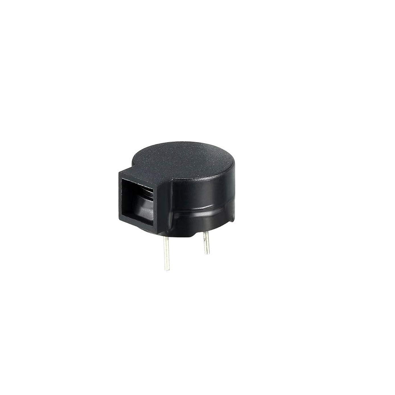 uxcell 2pcs DC 5V 2 Terminals Single-Side Buzz Passive Stereo Electronic Buzzer