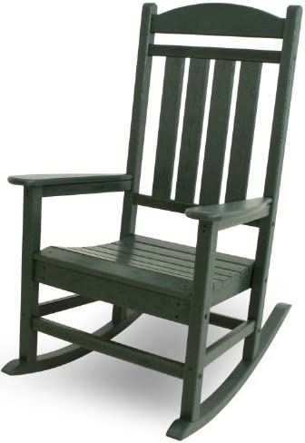 Best POLYWOOD R100GR Presidential Rocking Chair, Green