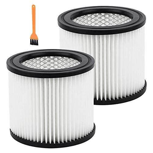 Haude 2 Paquetes de Filtros de Repuesto, Accesorios para Aspiradoras, Adecuados para el Elemento Filtrante de Aspiradora Shop Vac 90304