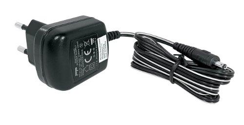 Wedo 50254 Netzgerät Zubehör (4 Volt / 100 mA, für Leselampe und Notenpultleuchte, mit 2 LEDs) schwarz