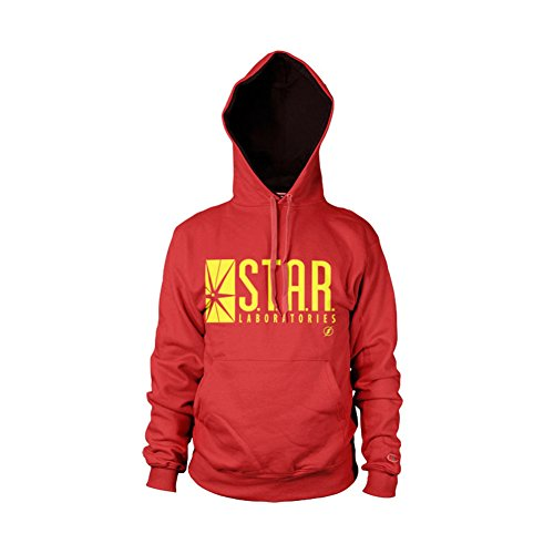 The Flash - Star Laboratories Hoodie (Rouge), X-Large